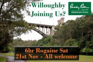 57th Paddy Pallin Rogaine